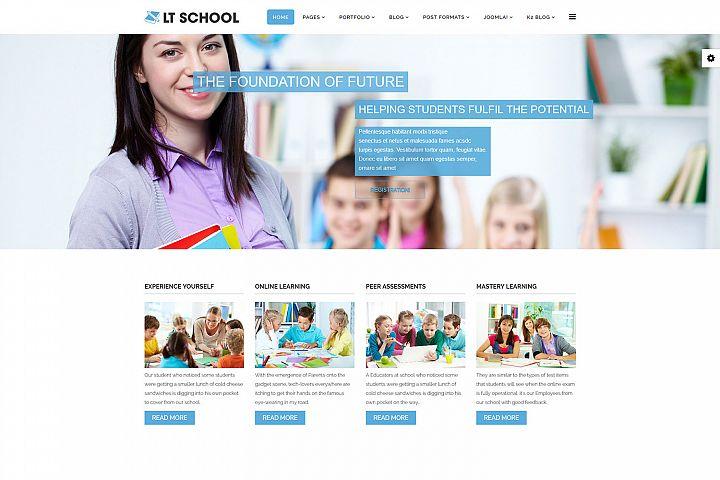 LT School - Premium Education / School Joomla template