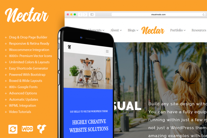Nectar - Responsive WordPress Theme