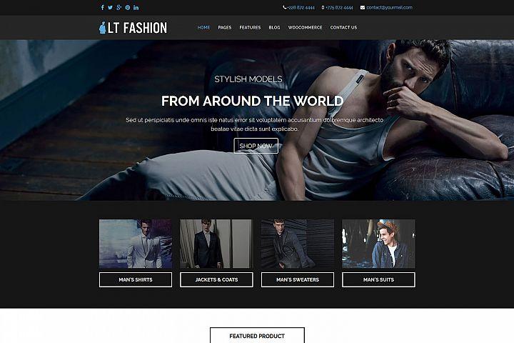 LT Fashion - Fashion Store / Clothes Shop WordPress Theme