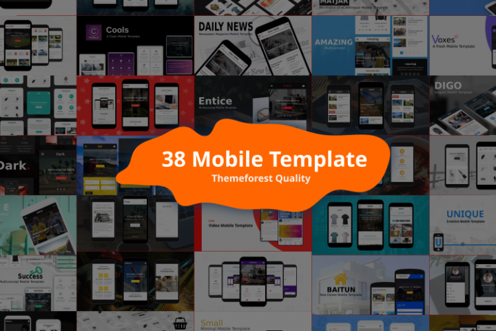 38 Mobile Template Bundle