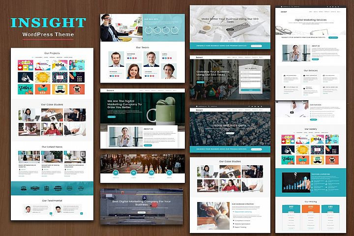 INSIGHT Multipurpose Responsive WordPress Theme