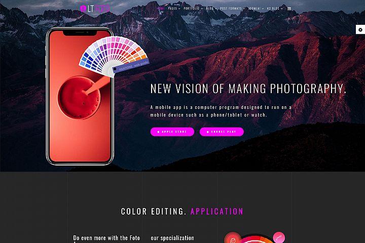 LT Foto - Premium Private App Joomla Template