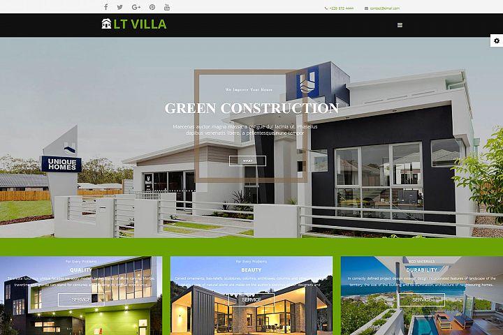 LT Villa - Premium Responsive Joomla Villa Template
