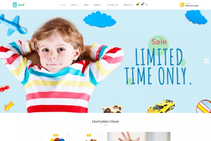 Bonbon - Baby & Kids Store WooCommerce Theme