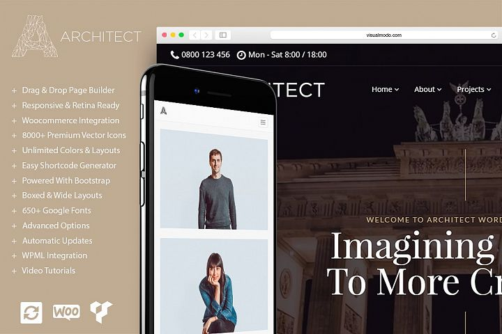 Architect - Responsive WordPress Theme
