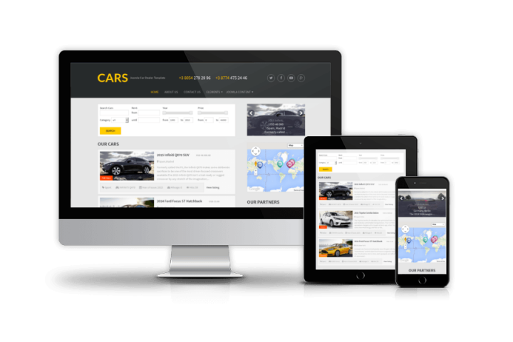 Cars - Free Joomla Car Dealer template