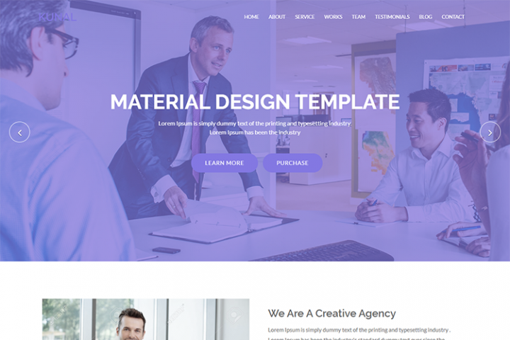 Kunal - Digital Corporate Business Template