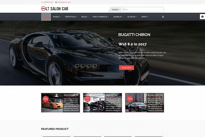LT Salon Car - Premium Responsive Joomla Car Dealer template