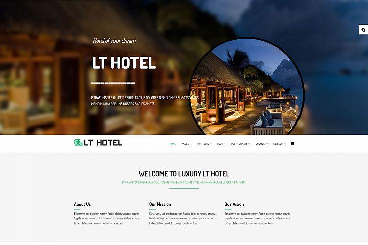 LT Hotel - Premium Responsive Joomla Hotel template