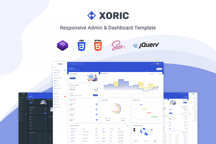 Xoric - Admin & Dashboard Template