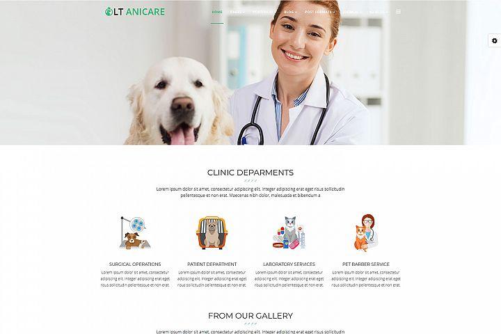 LT Anicare - Premium Joomla Animal Care Template
