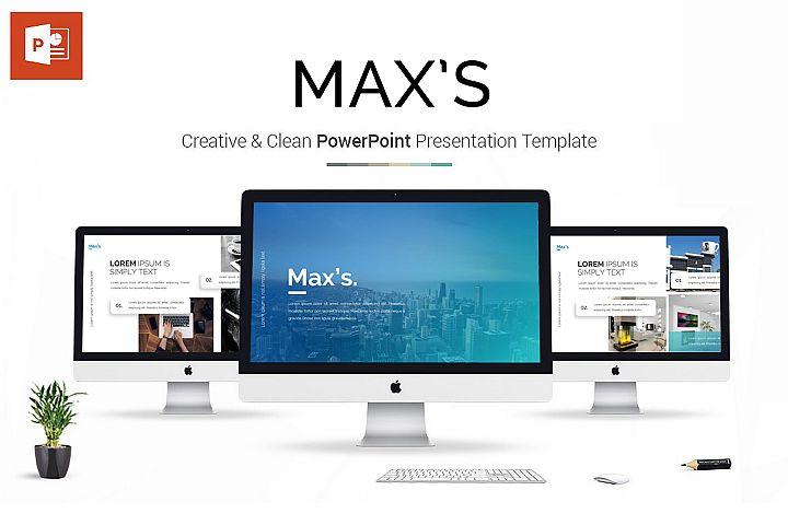 Maxs Presentation