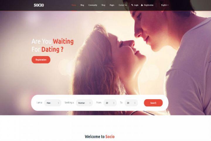 Socio - Social Network HTML Template