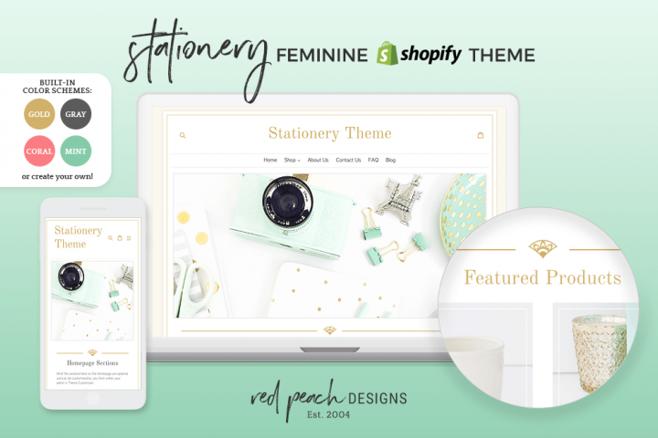 Stationery Responsive Shopify Theme