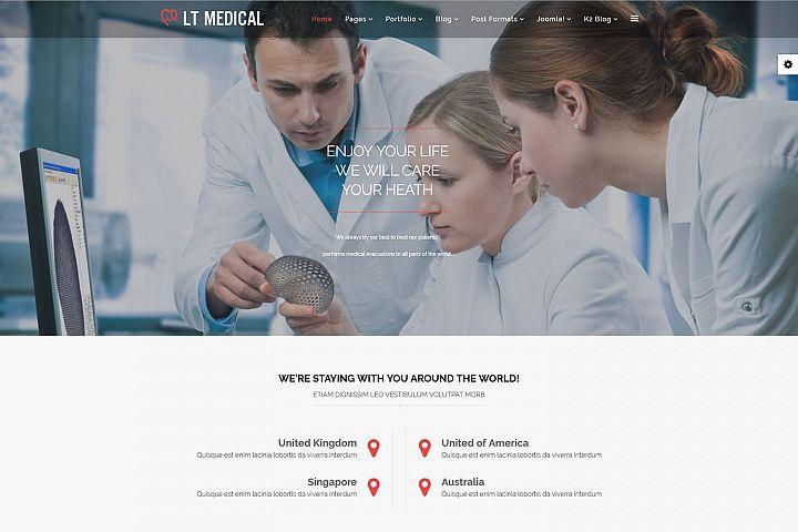 LT Medical - Premium Joomla Medical Website Template
