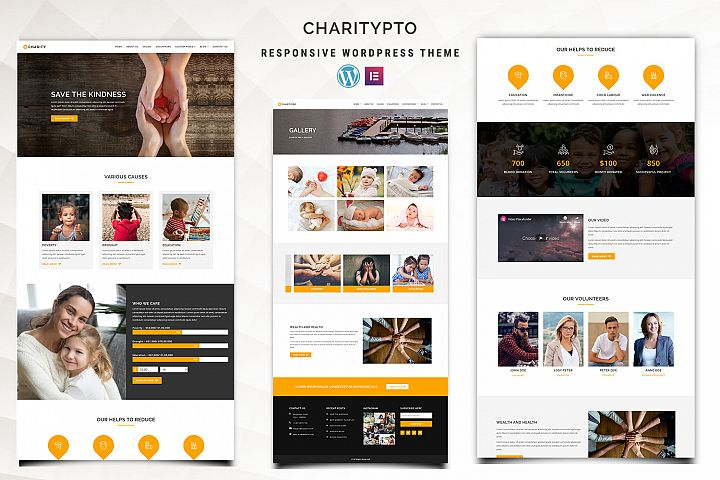Charitypro - Charity WordPress Theme