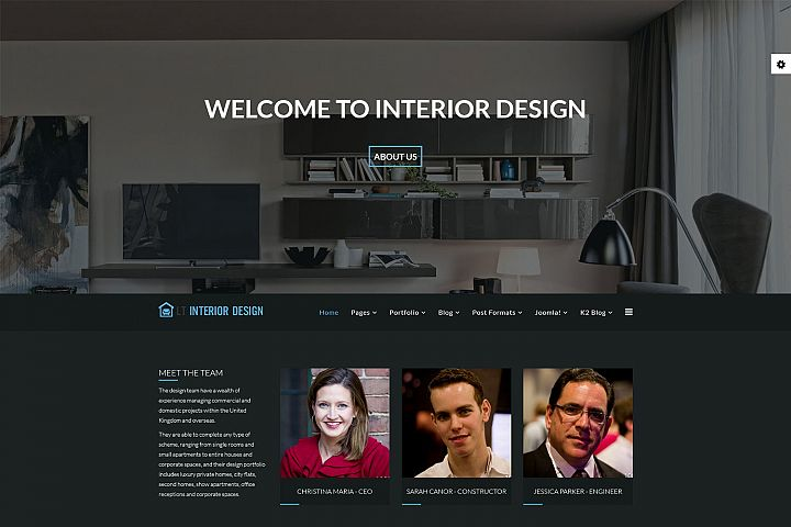 LT Interior Store - Premium Joomla Furniture Template