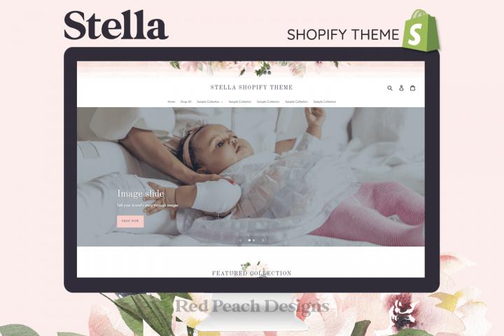 Stella Feminine Responsive Shopify Theme