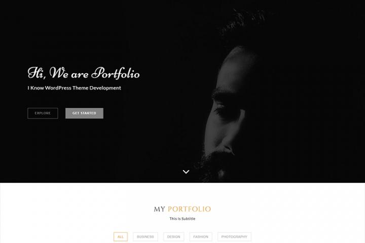 Portfolioline -Multipurpose Showcase theme
