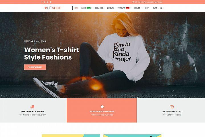 LT Shop - Premium Online Store, Joomla Shopping template