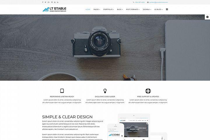 LT Stable - Premium Business Professional Joomla template
