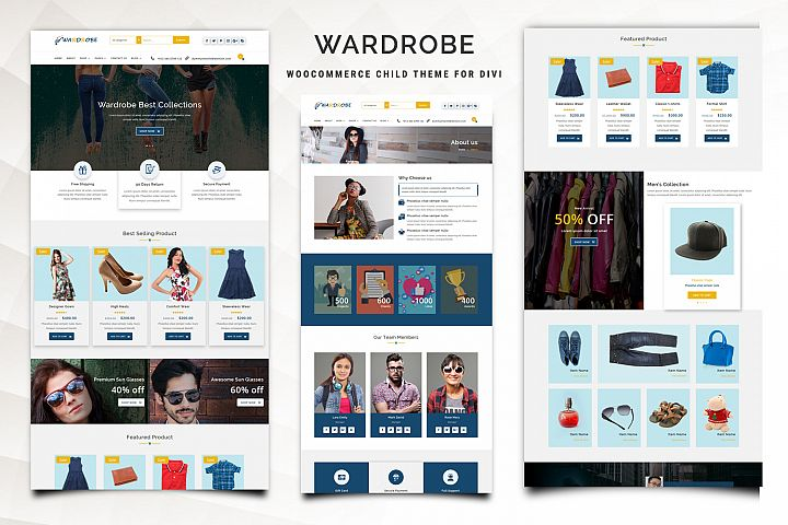 Wardrobe WooCommerce Child Theme for Divi