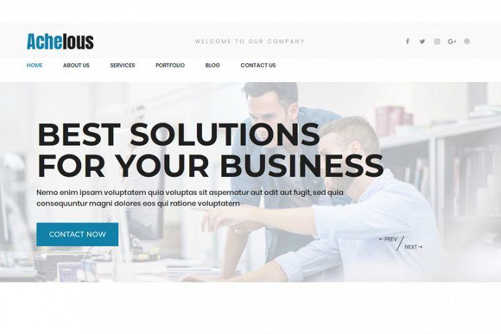 Achelous Corporate WordPress Theme