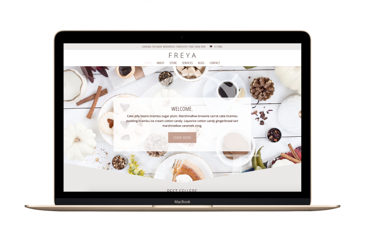 The Freya - Divi Child Wordpress Theme