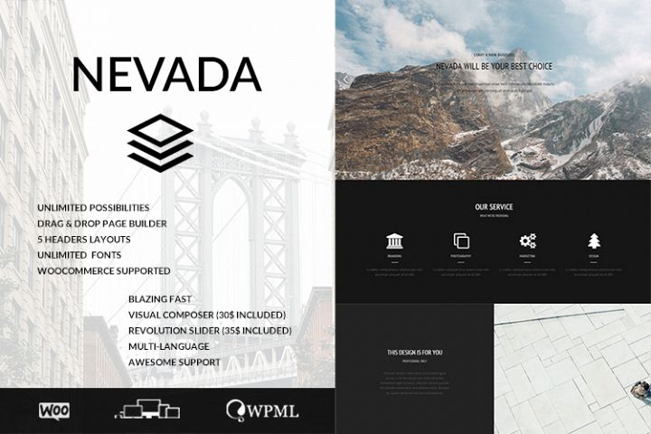 Nevada Ultimate Multipurpose WordPress Theme