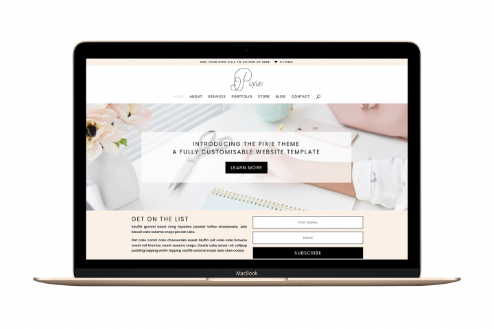 The Pixie - Divi Child Wordpress Theme