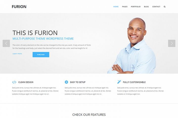 Furion Multipurpose Business WordPress Theme