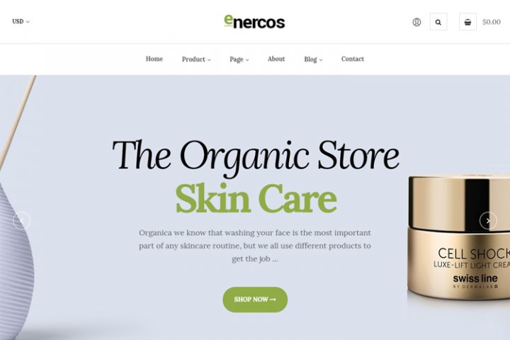 Enercos - Single Product eCommerce Shopify Theme