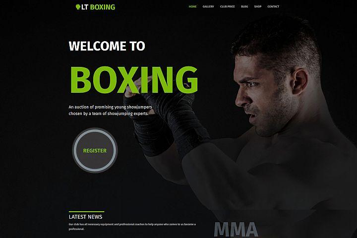 LT Boxing - Premium Responsive WordPress Kickboxer Theme